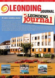 leonding journal 149 - SPÖ Leonding