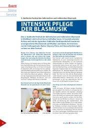 Event Szene Service - Egerländer Blasmusik Neusiedl am See