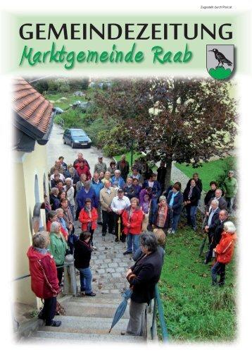 GemeindezeitunG - Marktgemeinde Raab - Land Oberösterreich