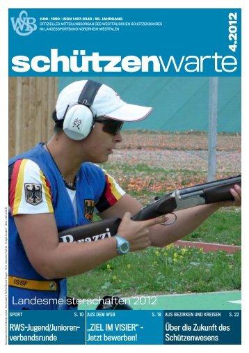 63. Westfälischer Schützentag - Schützenwarte - WSB