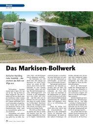 Das Markisen-Bollwerk - Wigo Zelte