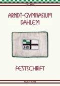 Festschrift-Auszug - Arndt-Gymnasium Dahlem - Seite 3