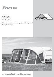 Focus - dwt-Zelte