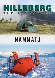 NAMMATJ - Hilleberg The Tentmaker
