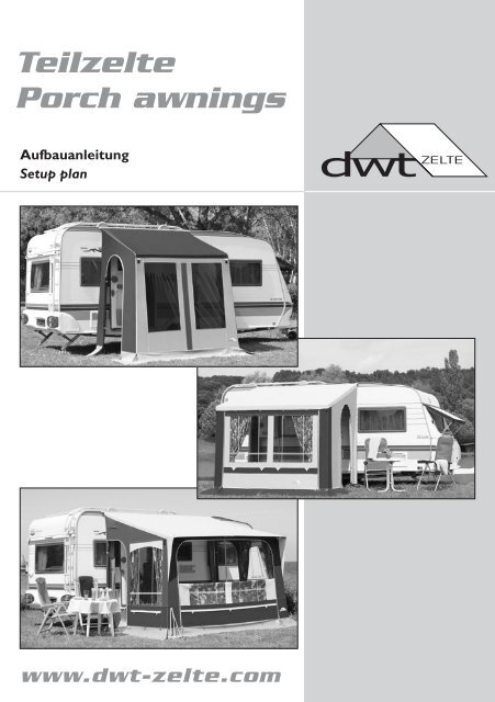 Teilzelte Porch awnings - dwt-Zelte