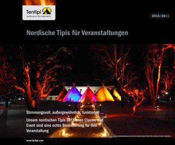 Nordische Tipis für Veranstaltungen - Tentipi