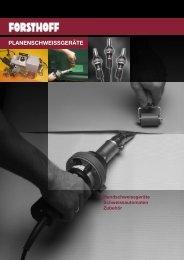 FORSTHOFF Planenschweissgeräte - Ahlborn Kunststoffe