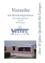 Ihr Partner für - Zeltfabrik Veltel oHG