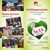 Prospekt Frühlingserwachen - .PDF - Brixlegg