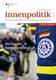 innenpolitik · November 2011 - des Bundesministerium des Innern