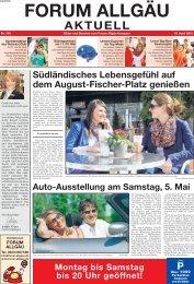 April 2012 - Forum Allgäu, Kempten