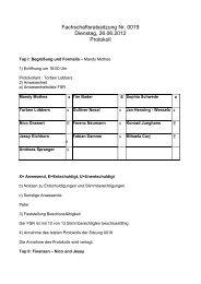 Protokoll Nr.19 vom 26.06.2012