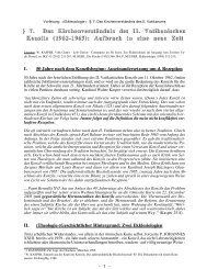 7. Das Kirchenverständnis des II. Vatikanischen Konzils - Theologie ...