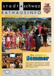 PDF Rathausinfo Nr. 6/2012 - Schwaz