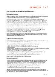 Leistungsübersicht DFSR 2012 deutsch + engl. - Dr. Frank ...