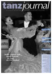 Steffen Zoglauer und Sandra Koperski im Finale der DM Standard