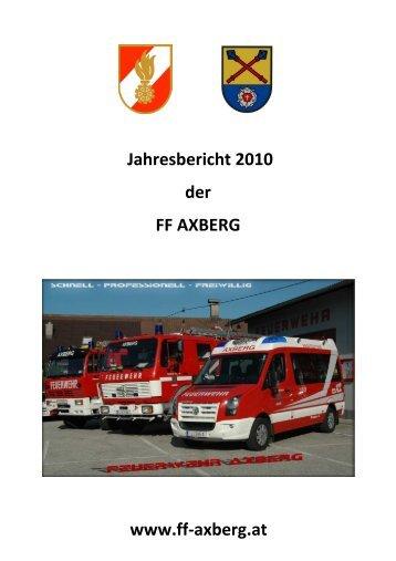 Download Jahresbericht - FF Axberg