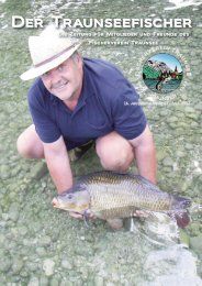 Der Traunseefischer Ausgabe 63 September 2012 - Fischerverein ...