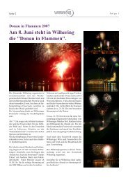 Gemeindezeitung 1 / 2007 - Gemeinde Wilhering