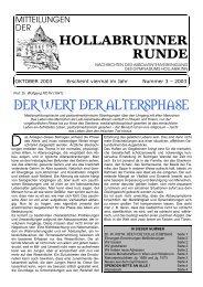 Nr. 3 – OKTOBER 2003 - HTL Hollabrunn