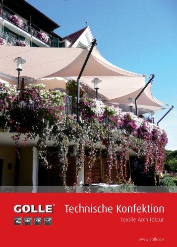 Technische Konfektion - Golle Zelte und Planen GmbH