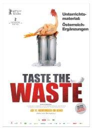 TASTE THE WASTE Ein Film von Valentin Thurn - schoool@poool