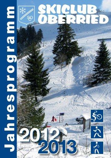 Download (PDF, ca. 6893 KB) - Skiclub Oberried
