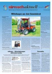 Das nächste erscheint am 24. Februar 2012 - Gemeinde Sirnach