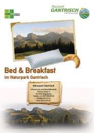Bed & Breakfast - Naturpark Gantrisch