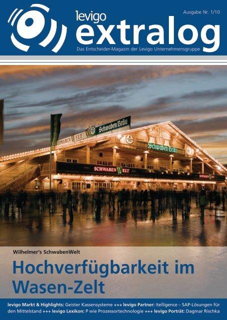 Hochverfügbarkeit im Wasen-Zelt - Levigo Holding GmbH