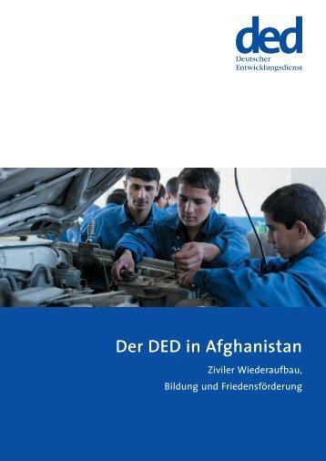 Der DED in Afghanistan - Deutsche Gesellschaft für Internationale ...