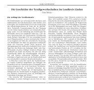Die Geschichte der Textilgewerkschaften im Landkreis Lindau