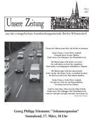 März 2007 - Auenkirche