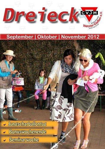 September | Oktober | November 2012 - CVJM-Kreisverband ...