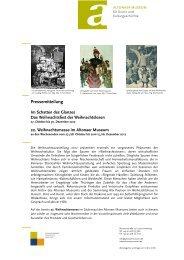 Pressemitteilung - Altonaer Museum
