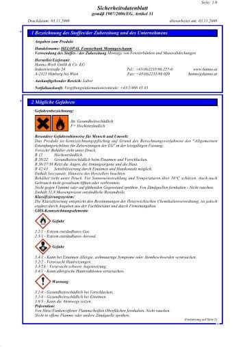 Montagerichtlinien für Aluminium Fensterbänke. (PDF-Format ... - Hirth