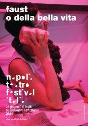 faust o della bella vita - Napoli Teatro Festival Italia