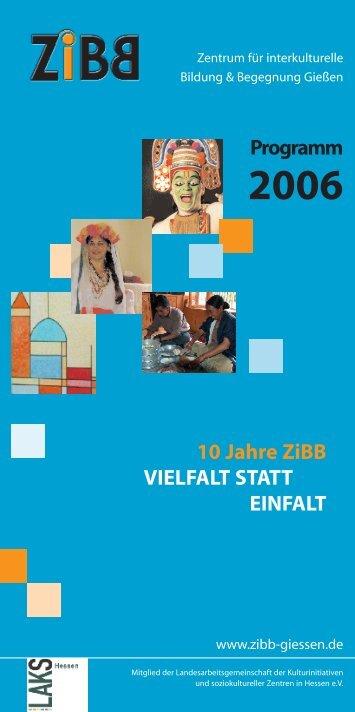 Programm 2006 - ZiBB
