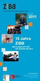 Download des ZiBB-Programms 2011