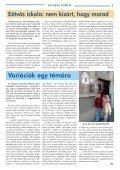 teleki blanka szakképzõ iskola és kollégium - Savaria Fórum - Page 3