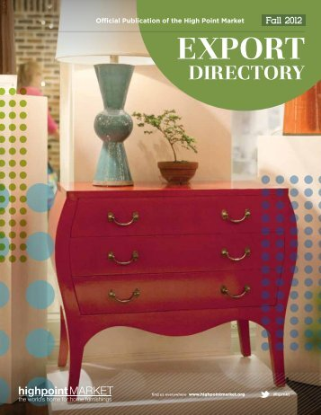 Download the Export Directory - High Point Market