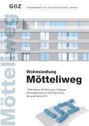 3.5 Zimmerwohnung - Genossenschaft der Baufreunde Zürich