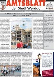 Richtfest des Senioren- und Betreuungszentrums ... - Stadt Werdau