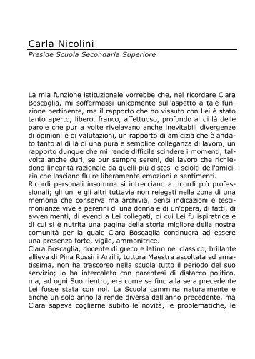 Carla Nicolini - Portale dell'educazione