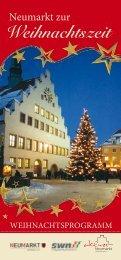 Weihnachtszeit - Stadt Neumarkt in der Oberpfalz