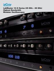 LabMaster 10 Zi (25 GHz - 65 GHz) Highest Bandwidth ... - LeCroy