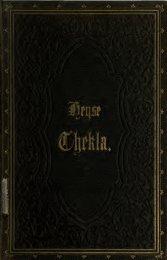Thekla, ein Gedicht in neun Gesängen