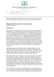 Leitlinie Diagnostik und Therapie des Zervixkarzinoms - DGGG