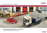 cars & trucks neuheiten juli / august 2005. new