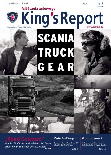 """""""Road Couture"""" - Scania"""
